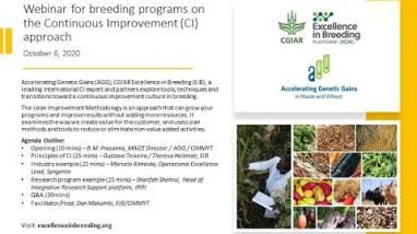 Embedded thumbnail for Webinar reveals approaches for breeders to save time and money, cut waste – and deliver for clients